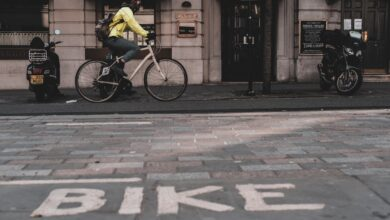 Photo of On your bike…or 'get off our pavements'