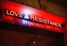 Photo of Stonewall falls apart